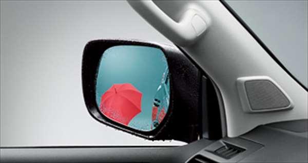 『ランドクルーザープラド』 純正 GKAGK アウターミラー レインクリアリングブルーミラー パーツ トヨタ純正部品 青色 ドアミラー 雨粒 landcruiser オプション アクセサリー 用品