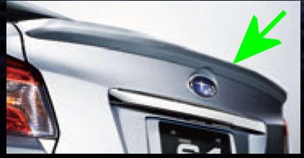 『WRX S4』 純正 VAG トランクリップスポイラー パーツ スバル純正部品 オプション アクセサリー 用品