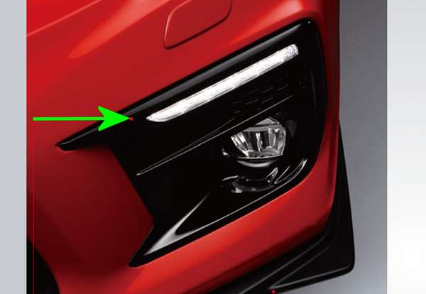 『WRX S4』 純正 VAG LEDアクセサリーライナー 本体のみ ※フォグカバーは別売 パーツ スバル純正部品 ライト 照明 イルミネーション オプション アクセサリー 用品