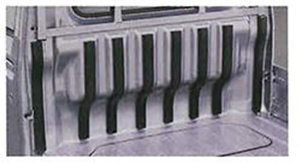 ハイゼットトラック 純正 限定特価 S500P S510P キャビンバックプロテクター ゴム パーツ アクセサリー 保護 用品 サービス オプション 荷台 ダイハツ純正部品