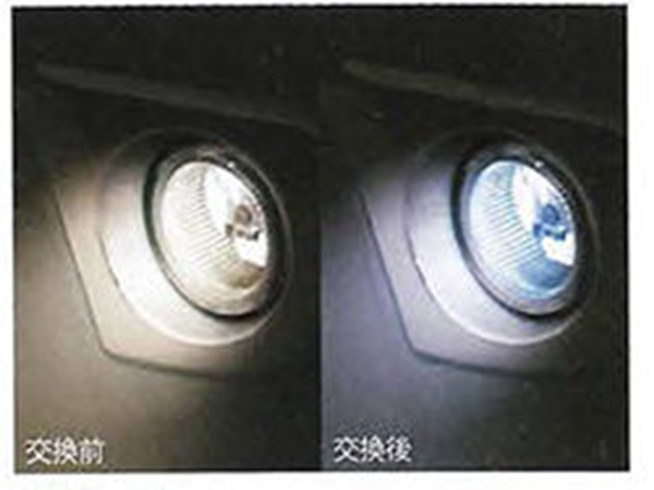 『ハイゼットトラック』 純正 S500P S510P LEDバルブ(フォグランプ用) パーツ ダイハツ純正部品 フォグライト 補助灯 霧灯電球 照明 ライト オプション アクセサリー 用品