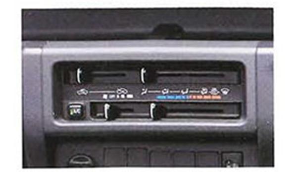 『ハイゼットトラック』 純正 S500P S510P エアコン パーツ ダイハツ純正部品 オプション アクセサリー 用品