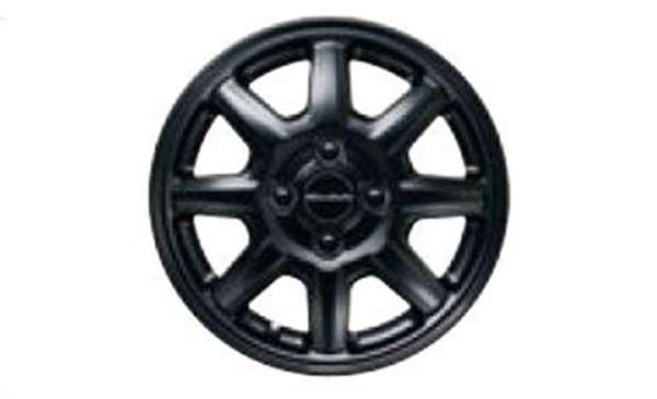 『NBOX SLASH』 純正 JF1 JF2 14インチアルミホイール MS-024(ぺルリナブラック(マット)塗装) ※1本より販売 パーツ ホンダ純正部品 安心の純正品 オプション アクセサリー 用品