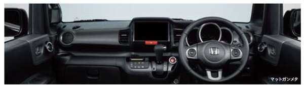 『NBOX SLASH』 純正 JF1 JF2 インテリアパネル(交換タイプ) フロントドアライニング部用(2枚セット)※サウンドマッピングシステム装備無車 ※ガンメタ パーツ ホンダ純正部品 内装パネル オプション アクセサリー 用品