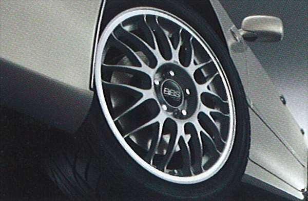 『クラウンマジェスタ』 純正 UZS186 UZS187 アルミホイール(1)(BBS/17インチ)FR・RR共通 パーツ トヨタ純正部品 crown オプション アクセサリー 用品