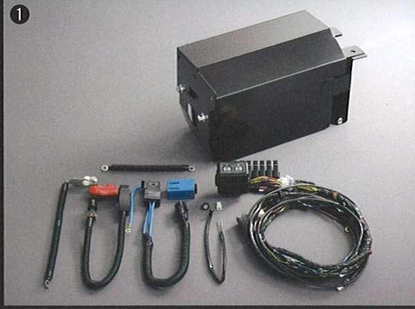 『デリカ』 純正 CV5 サブバッテリーシステム パーツ 三菱純正部品 DELICA オプション アクセサリー 用品