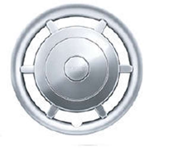 『ミラ トコット』 純正 LA550S LA560S ドレスアップホイールキャップ(メタル調シルバー) パーツ ダイハツ純正部品 ホイールカバー オプション アクセサリー 用品