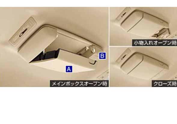 『エスティマ』 純正 GSR50W GSR55W ACR50W A オーバーヘッドコンソール パーツ トヨタ純正部品 estima オプション アクセサリー 用品