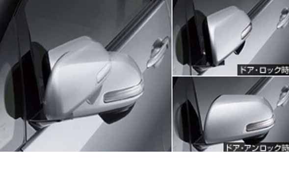 『エスティマ』 純正 GSR50W GSR55W ACR50W A オートリトラクタブルミラー ※ミラー本体ではありません パーツ トヨタ純正部品 ドアミラー自動格納 駐車連動 estima オプション アクセサリー 用品