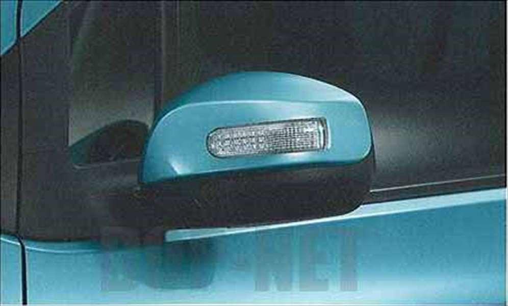 『スプラッシュ』 純正 XB32S ドアミラーカバーのターンランプ付 パーツ スズキ純正部品 サイドミラーカバー カスタム splash オプション アクセサリー 用品