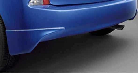 『ラクティス』 純正 NCP120 リヤバンパースポイラー パーツ トヨタ純正部品 ractis オプション アクセサリー 用品