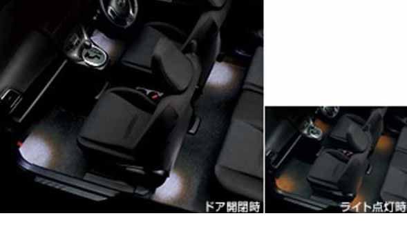 『ラクティス』 純正 NCP120 インテリアイルミネーション 2モードタイプ パーツ トヨタ純正部品 照明 明かり ライト ractis オプション アクセサリー 用品