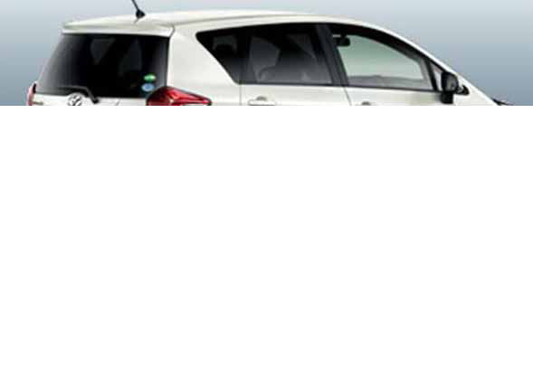 『ラクティス』 純正 NCP120 IR(赤外線)カットフィルム リヤサイド・バックガラス パーツ トヨタ純正部品 日除け カーフィルム ractis オプション アクセサリー 用品