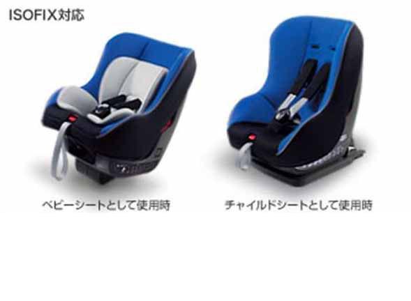 【ラクティス】純正 NCP120 チャイルドシート NEO G-CHILD ISO tether パーツ トヨタ純正部品 ractis オプション アクセサリー 用品
