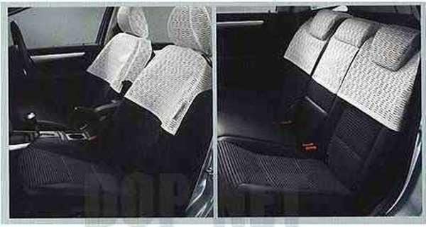 Bクラス レースハーフシートカバーのホワイト ベンツ純正部品 Bクラス パーツ t245 w245 パーツ 純正 ベンツ ベンツ純正 ベンツ 部品 オプション シートカバー カバー