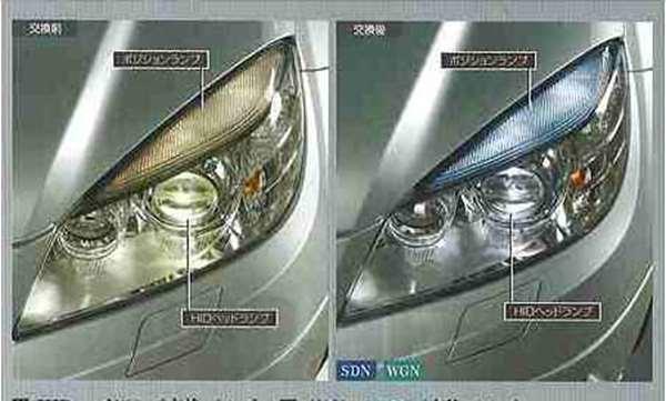 C class HID headlamp replacement bulb Mercedes-Benz genuine parts C class  parts [w204 s204 c204] parts genuine Mercedes-Benz Mercedes-Benz genuine