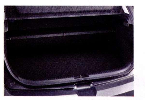 『アクセラ』 純正 BL5FW BLEFW BLEAW ラゲッジシェルフ(ブラック) パーツ マツダ純正部品 axela オプション アクセサリー 用品