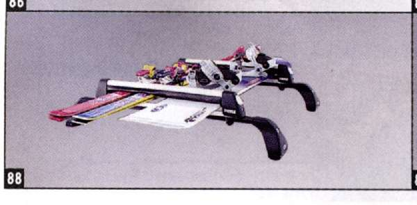 『アクセラ』 純正 BL5FW BLEFW BLEAW スキー/スノーボードアタッチメント(THULE製・Aタイプ) パーツ マツダ純正部品 キャリア別売りキャリア別売り axela オプション アクセサリー 用品