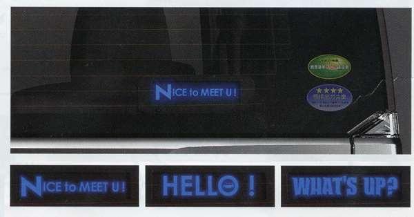 『NBOX』 純正 JF1 オーナメントイルミネーション パーツ ホンダ純正部品 エンブレム オプション アクセサリー 用品
