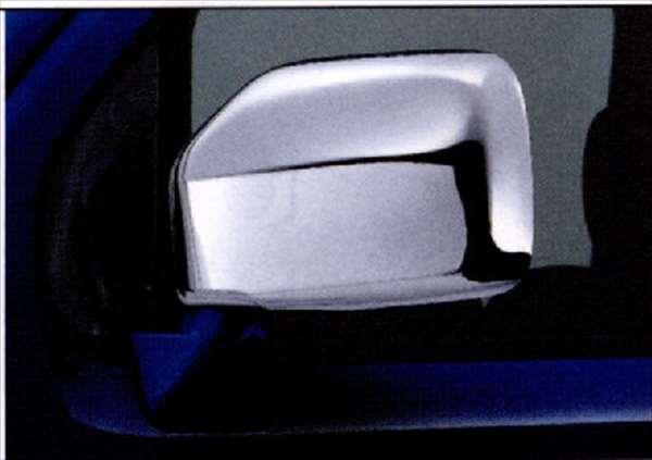 『シボレーMW』 純正 ME34S ドアミラーカバー(樹脂クロームメッキ) 左右セット パーツ スズキ純正部品 メッキ サイドミラーカバー カスタム Chevroletmw オプション アクセサリー 用品