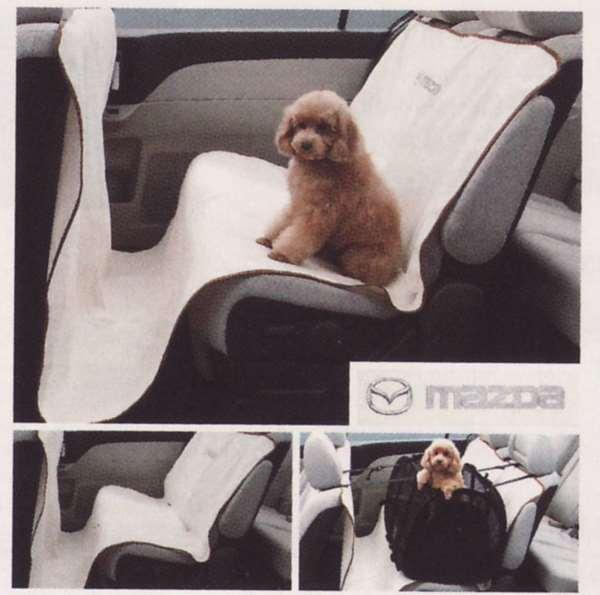 『プレマシー』 純正 CREW CR3W ペットシートカバー パーツ マツダ純正部品 座席カバー 汚れ シート保護 PREMACY オプション アクセサリー 用品