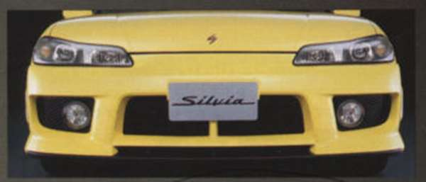 西尔维娅 · 航空保险杠 * 油漆无底漆规范真正的日产零件西尔维娅部分 S15 部分真正日产日产真正日产零件可供选择
