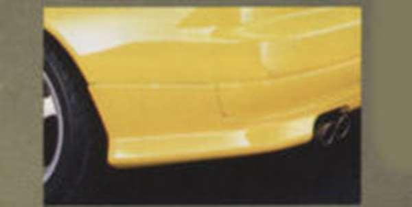 『シルビア』 純正 S15 リヤサイドプロテクター スーパーブラック #kh3 パーツ 日産純正部品 SILVIA オプション アクセサリー 用品