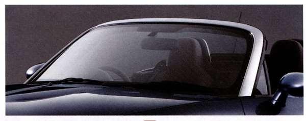 『ロードスター』 純正 NCEC フロントビラーガーニッシュ(クローム) パーツ マツダ純正部品 Roadster オプション アクセサリー 用品