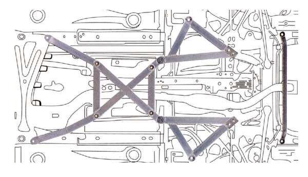 『ロードスター』 純正 NCEC クロスメンバーバー(リア) パーツ マツダ純正部品 Roadster オプション アクセサリー 用品
