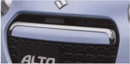 『アルト』 純正 HA25S HA35S フロントグリルカバー パーツ スズキ純正部品 飾り カスタム エアロ alto オプション アクセサリー 用品