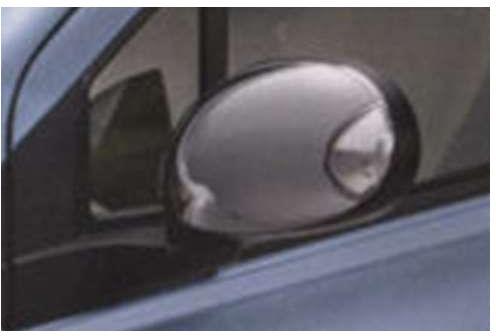 『アルト』 純正 HA25S HA35S メッキ ドアミラーカバー(LEDサイドターンランプ付ドアミラー用) 左右セット パーツ スズキ純正部品 サイドミラーカバー カスタム alto オプション アクセサリー 用品