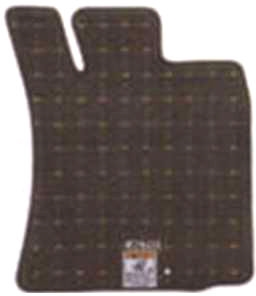 『アルト』 純正 HA25S HA35S フロアマットジュータン(コーラス・ブラウン) 高級タイプ パーツ スズキ純正部品 フロアカーペット カーマット カーペットマット alto オプション アクセサリー 用品
