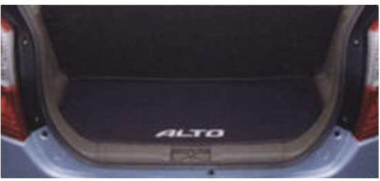 『アルト』 純正 HA25S HA35S ラゲッジマット(ソフトトレー) ALTOロゴ入り パーツ スズキ純正部品 ラゲージマット 荷室マット 滑り止め alto オプション アクセサリー 用品