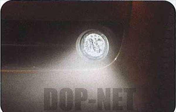 蒭藁增二卤雾灯工具包 (用于自定义) 大发汽车纯正配件蒭藁增二部分 [s321g s331g] 部分真正 Daihatsu Daihatsu 真正大发部分选项雾雾雾灯光