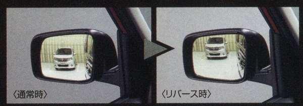 『エクストレイル』 純正 T32 リバース連動下向きドアミラー(助手席側) ※ミラー本体ではありません GCEX0 パーツ 日産純正部品 X-TRAIL オプション アクセサリー 用品