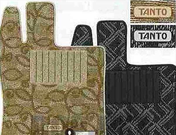 『タント』 純正 L375S L385S カーペットマット(4WD用) パーツ ダイハツ純正部品 フロアカーペット カーマット カーペットマット tanto オプション アクセサリー 用品