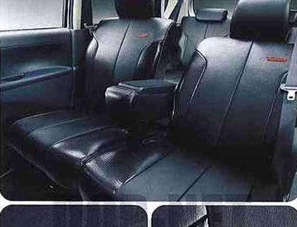 『タント』 純正 L375S L385S シートカバー(本革風×クロコダイル風コンビタイプ) パーツ ダイハツ純正部品 座席カバー 汚れ シート保護 tanto オプション アクセサリー 用品