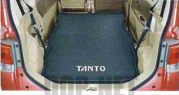 『タント』 純正 L375S L385S ラゲージソフトトレイ(2名乗車用) パーツ ダイハツ純正部品 ラゲッジマット トランクトレイ 滑り止め tanto オプション アクセサリー 用品