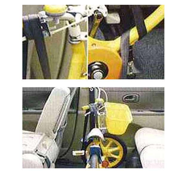 『タント』 純正 L375S L385S サイクルホルダーキット(ジュニアサイズ用) パーツ ダイハツ純正部品 自転車固定 tanto オプション アクセサリー 用品