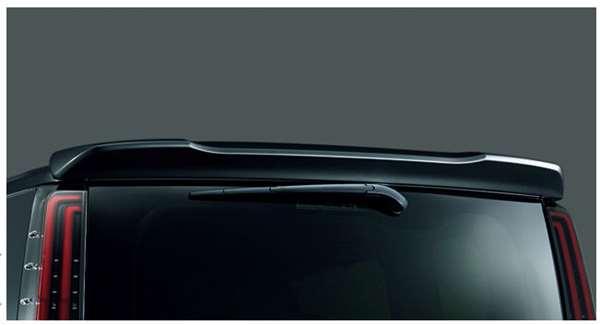『ノア』 純正 ZWR80W ZWR80G ZRR80W ZRR80G ZRR85W ZRR85G リヤスポイラー(カラード) パーツ トヨタ純正部品 ルーフスポイラー リアスポイラー オプション アクセサリー 用品