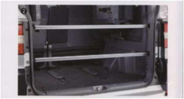 『デリカD:5』 純正 CV4W CV5W ラゲッジレールバー パーツ 三菱純正部品 DELICA オプション アクセサリー 用品