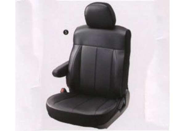 『デリカD:5』 純正 CV4W CV5W シートカバー(ブラック本革調)※ブラック内装車用 8人乗り パーツ 三菱純正部品 座席カバー 汚れ シート保護 DELICA オプション アクセサリー 用品