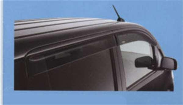 『ルクラ』 純正 L455F L465F ドアバイザー パーツ スバル純正部品 LUCRA オプション アクセサリー 用品