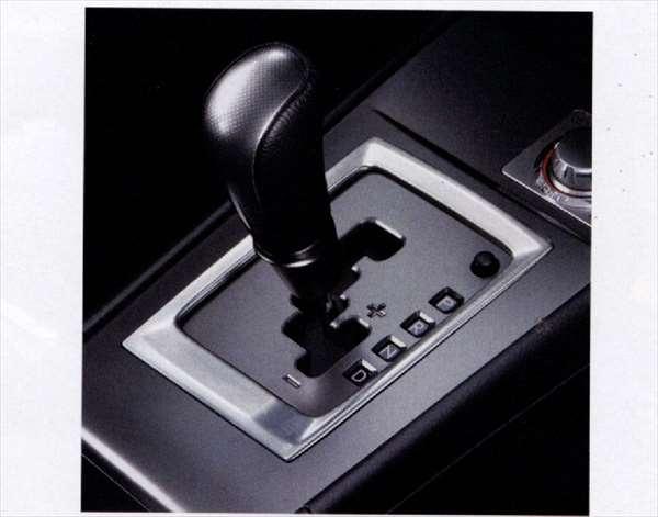 『エクシーガ』 純正 YA5 YAM アルミヘアラインシフトカバー パーツ スバル純正部品 exiga オプション アクセサリー 用品