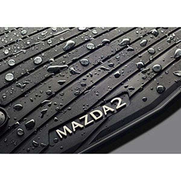 『MAZDA2』 純正 DJLFS DJLAS DJ5FS DJ5AS オールウェザーマット パーツ マツダ純正部品 オプション アクセサリー 用品