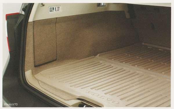 V70 XC70 S80 パーツ ラゲッジトレー(チャコール S80用) ボルボ純正部品 BB6304TW BB6304TXC AB6304T オプション アクセサリー 用品 純正 トレイ