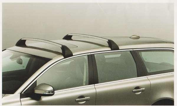 V70 XC70 S80 パーツ ロードキャリア ウイングタイプ ルーフレール非装備車用 ボルボ純正部品 BB6304TW BB6304TXC AB6304T オプション アクセサリー 用品 純正