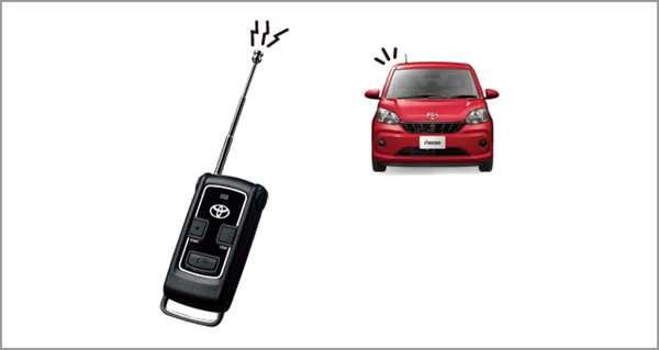 『パッソ』 純正 M700A M710A リモートスタート(キーフリーシステム付車用) パーツ トヨタ純正部品 ワイヤレス エンジンスターター 無線 passo オプション アクセサリー 用品