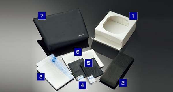 『パッソ』 純正 M700A M710A 携帯トイレ(簡易セット) パーツ トヨタ純正部品 passo オプション アクセサリー 用品