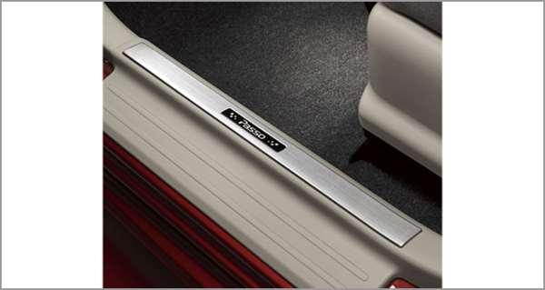 『パッソ』 純正 M700A M710A スカッフプレート(ステンレス)※プライマ無 パーツ トヨタ純正部品 ステップ 保護 プレート passo オプション アクセサリー 用品